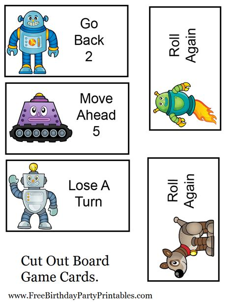 printable games for kids robot memory game free free robot birthday party printables