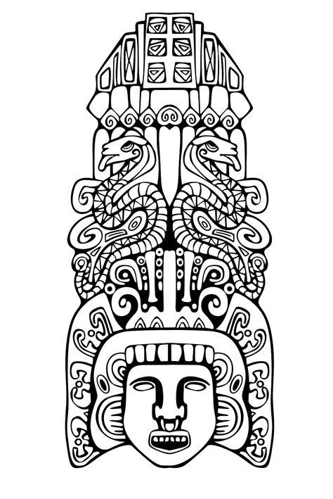 Totem inspiration inca mayan aztec 2 - Mayans & Incas