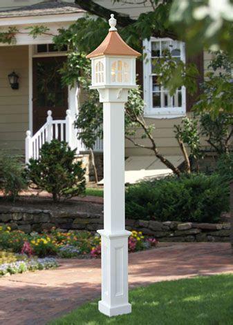 mailbox post solar light l post mailbox idea with a solar light and a flower