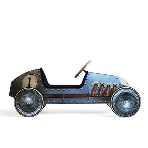flink wooden push car for self assembly by phim 1