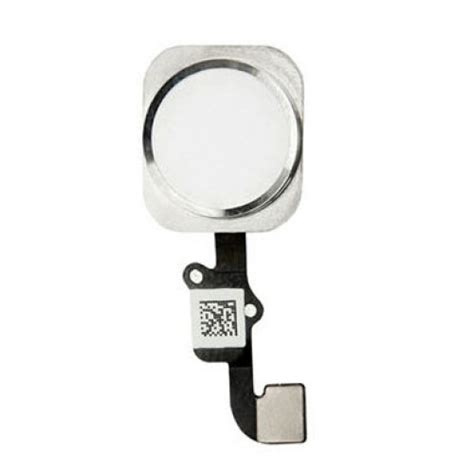 Homebutton Iphone 44s55g5s6677 List Silver iphone 6 6 plus home button flex cable assembly silver