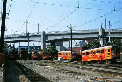 The Electric Railway 610 pery toluca yard 19550610 akw rapid transit