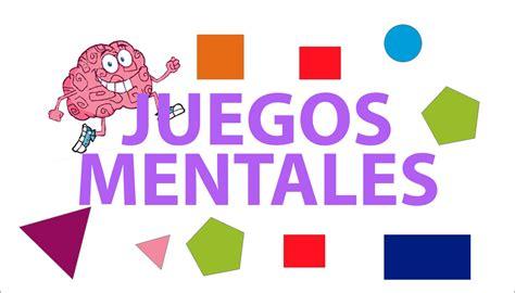 imagenes de juegos mentales gratis juegos mentales para ni 209 os agilidad mental para el