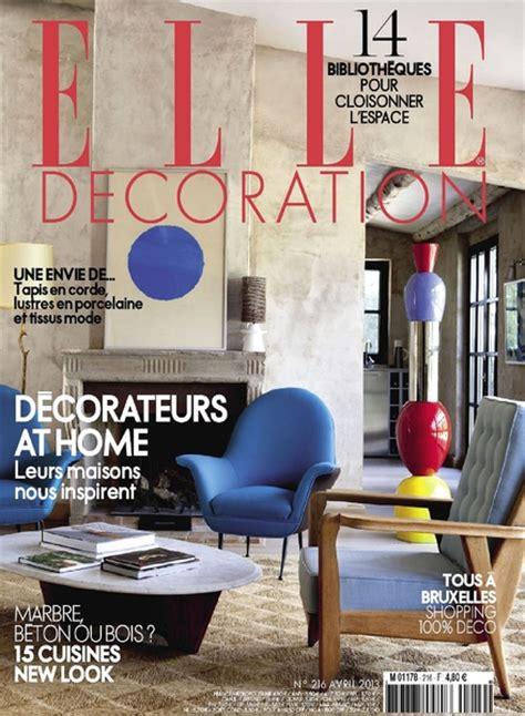 elle decoration france april   magazine