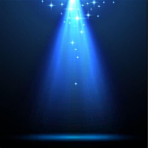 Blue Light by Blue Light Vector Background Illustration 04 Vector Background Free
