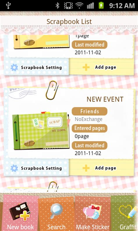 scrapbook layout app photo collage scrapbook free android apps on google play