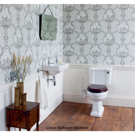 edwardian luxury designer wall hung basin cloakroom