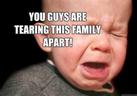 Upset Meme - upset family baby memes quickmeme