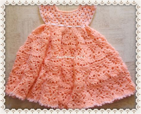 free pattern newborn dress crochet baby dress archives free baby crochet