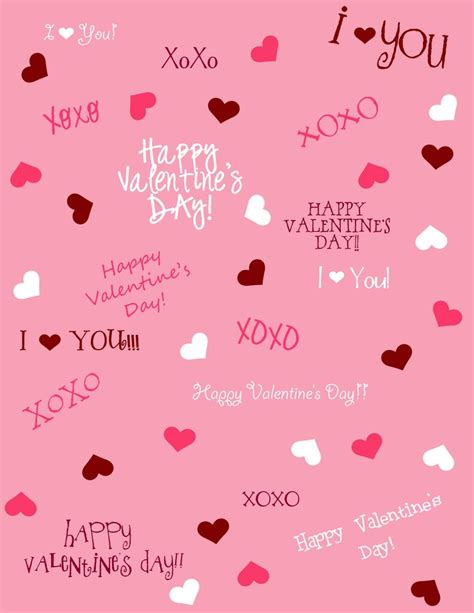 printable valentine paper 371 best love valentine s day images on pinterest