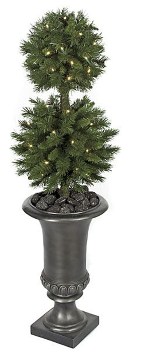 outdoor lighted topiary trees artificial topiary trees outdoor topiary 41 inch