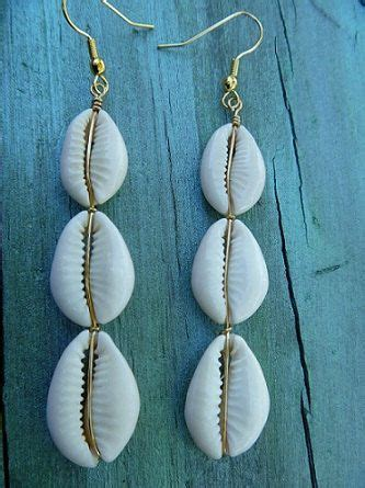 how to make jewelry from shells island jewelry cowrie shell earrings cowry brass or
