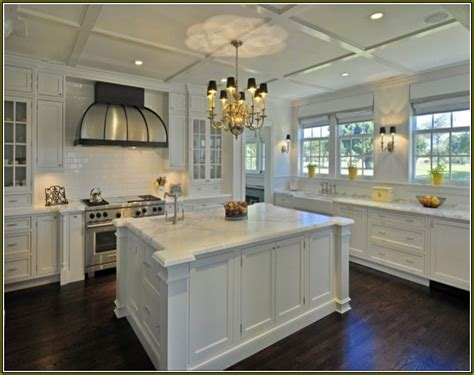 dark floors white cabinets white shaker kitchen cabinets dark wood floors home