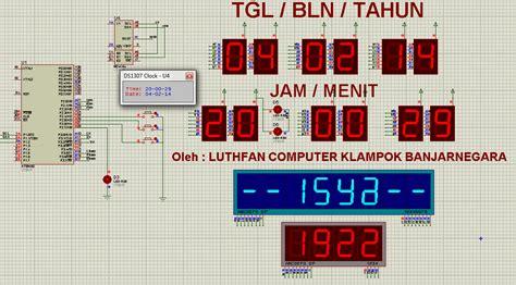 Jam Jadwal Waktu Sholat Masjid 1 Iqomah Counter 110 X 50cmjpg jam waktu sholat dengan mikrokontroler aruatshare