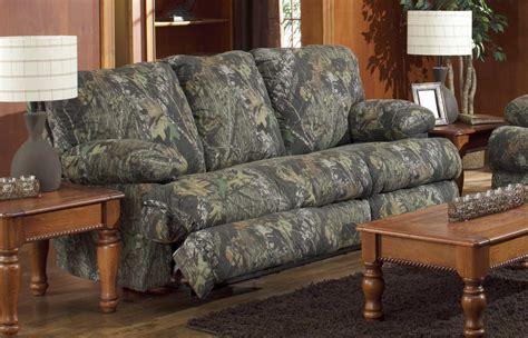 mossy oak sofa catnapper wintergreen reclining sofa mossy oak new