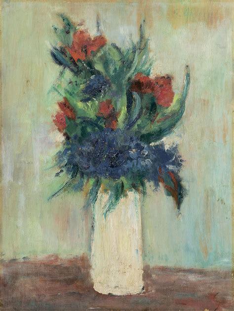 fiori nel vaso omiccioli fiori nel vaso bianco arte moderna e