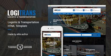 wordpress themes logistics free logitrans logistic and transportation html template by