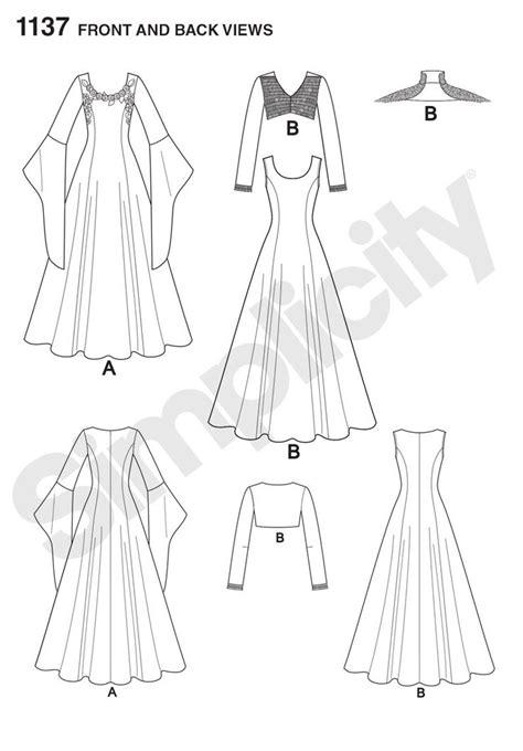 Dress Sewing Stuff 1137 costumes simplicity patterns sewing stuff