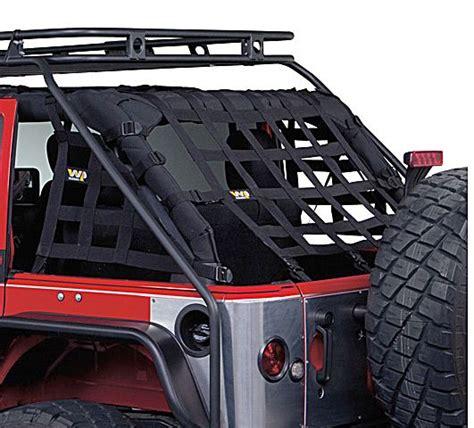 Jeep Wrangler Door Nets Warrior Products Cargo Net Kit For 07 16 Jeep 174 Wrangler