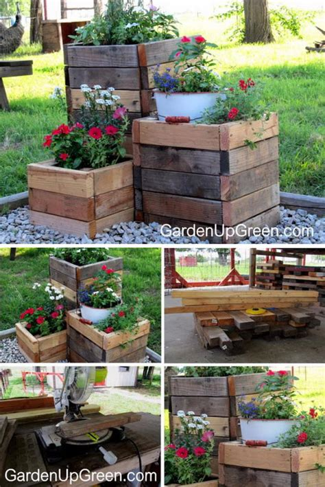 wood planter box diy 30 creative diy wood and pallet planter boxes to style up
