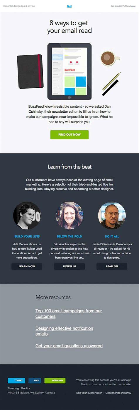 newsletter design editor how newsletter design should look like