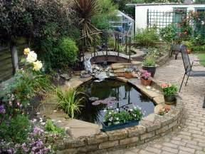 Small pond with waterfall garden ponds japanese