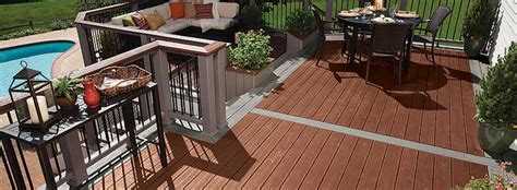 Composite Vs Wood Decking by Maryland Roofing Contractors Composite Vs Wood Deck