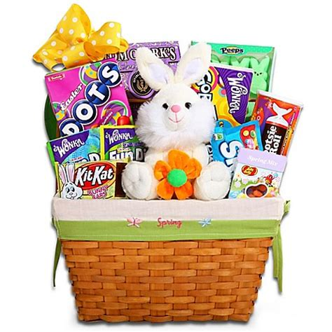bed bath and beyond easter ultimate traditional easter basket by alder creek gift