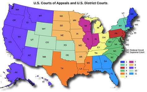 us circuit court map federal circuit map my
