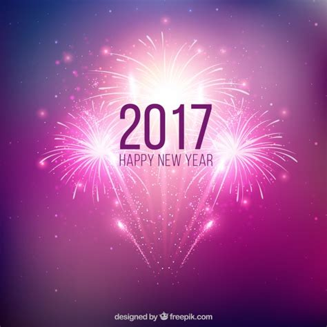 new year background free vector purple new year fireworks background vector free