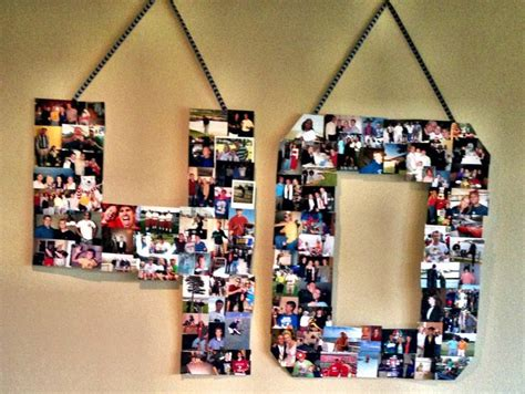 Handmade Photo Collage For Birthday - 17 best images about 40th birthday ideas on