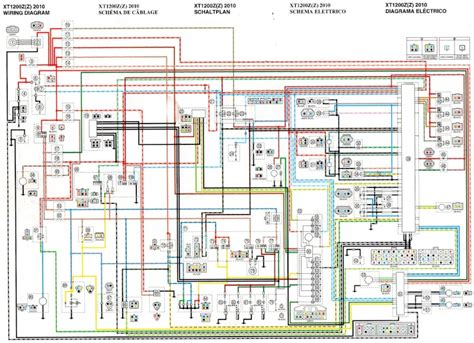 yamaha tenere wiring diagram yamaha wr250x wiring
