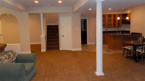 basement wrap whistling prairie basement almost done throughout basement column covers ideas for basement