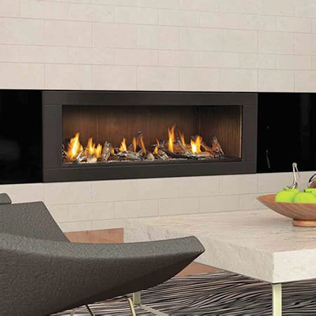 Direct Vent Linear Fireplace by Napoleon Lhd62 Vector 62 Linear Direct Vent Gas Fireplace