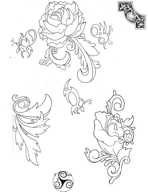 tattoo line drawings tattoo line drawings 2 by klyde chroma on deviantart
