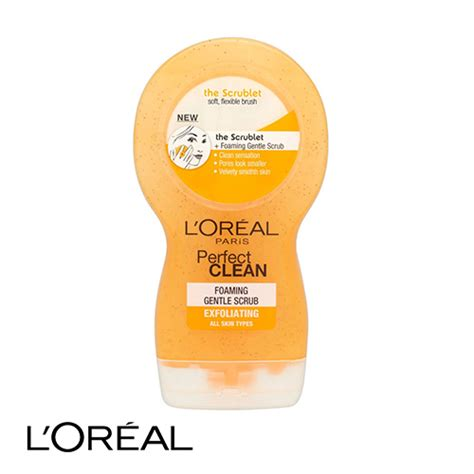 Scrub L Oreal l oreal clean gentle apricot scrub with cleanpod exfoliating 150ml ebay