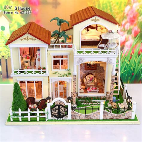 Handmade Kits - new arrive doll house model building kits miniature diy