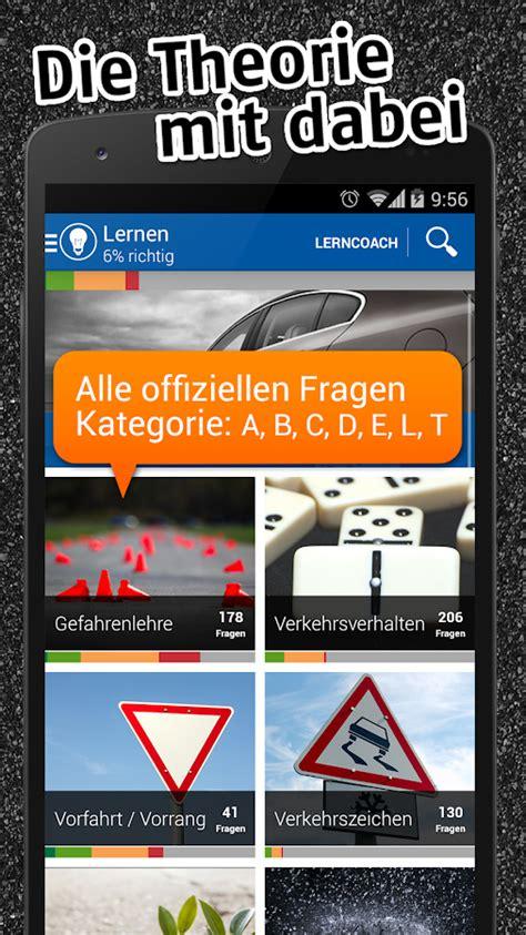 Auto Und Motorradf Hrerschein Klassen by Itheorie F 252 Hrerschein Auto 2018 2019 Pro Android Apps