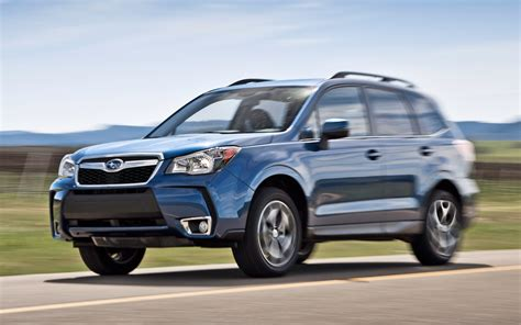 subaru forester 2014 subaru forester xt front view in motion 203362 photo