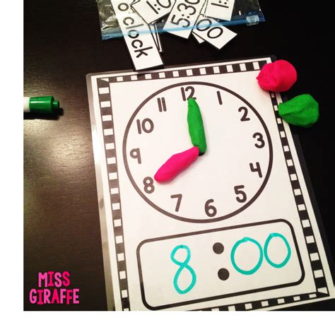libro the rub of time miss giraffe s class telling time in first grade