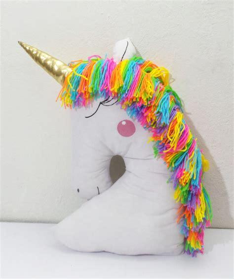 almohadas de unicornio coj 237 n unicornio cojines de ni 241 os unicornio cojines y