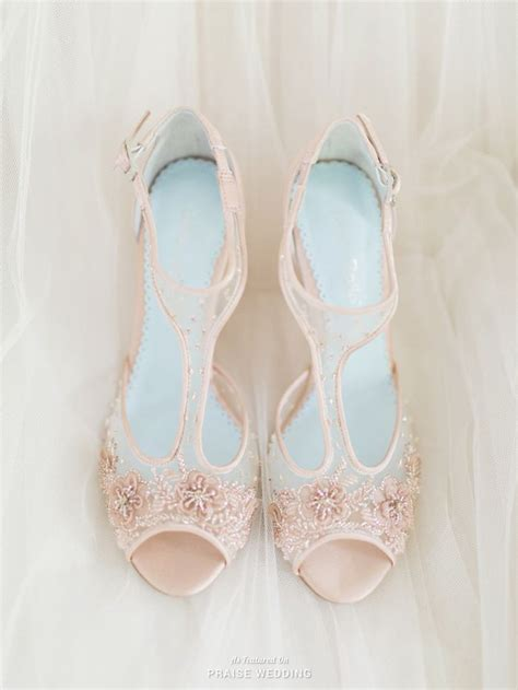 Blush Colored Shoes For Wedding by 1000 Ideas About Blush Wedding Dresses On