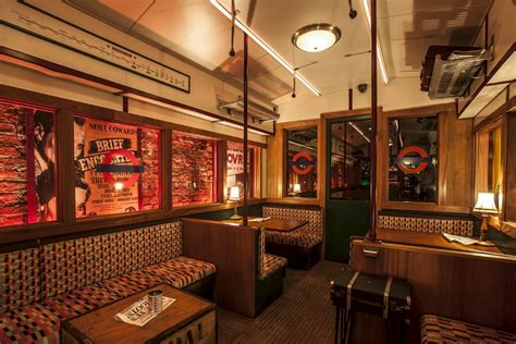 Best Fabric For Dining Room Chairs ten reasons to visit soho s new underground tube themed