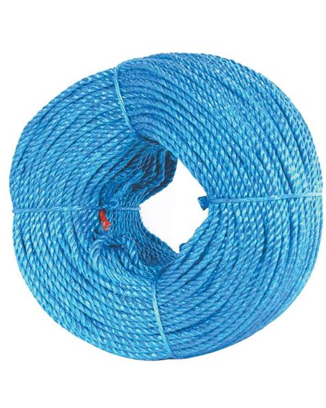 6mm Polypropylene Rope - blue polypropylene rope 220m x 6mm