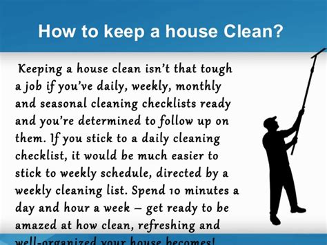 how to keep house how to prepare a daily and weekly house cleaning schedule