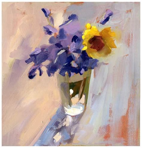 A Painting A Day by S Painting A Day 770 Cup Of Flower 12x12in