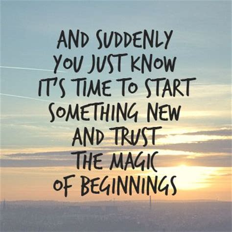 Are You Excited For The And The City by 25 Best New Beginning Quotes On New