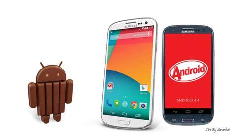 Samsung S3 Kitkat galaxy s3 ed s3 mini non riceveranno l aggiornamento ad android 4 4 kitkat parola di samsung