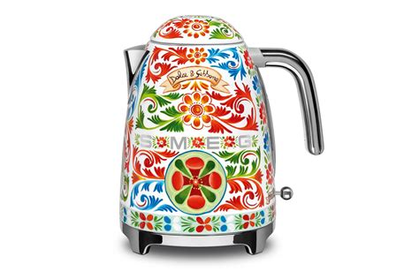 Dolce & Gabbana X Smeg Appliances 2017: Toaster, Juicer, Coffee Maker   Country & Town House