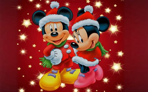 theme line mickey mouse free mickey and minnie mouse christmas theme desktop wallpaper